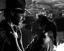 Harrison Ford & Karen Allen in Raiders of the Lost Ark Poster and Photo