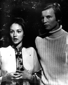 Michael York & Olivia Hussey in Lost Horizon (1973) Poster and Photo