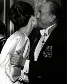 Audrey Hepburn & Jack L. Warner Poster and Photo