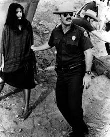 Jack Nicholson & Elpidia Carrillo in The Border Poster and Photo