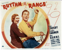 Poster & Bing Crosby in Rhythm on the Range Poster and Photo