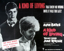 Poster & Alan Bates in A Kind of Loving Poster and Photo