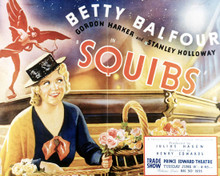 Poster & Betty Balfour in Squibs Poster and Photo