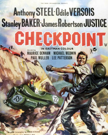 Poster & Anthony Steel in Checkpoint Poster and Photo