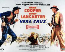 Poster & Burt Lancaster in Vera Cruz Poster and Photo