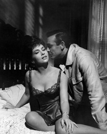 Sean Connery & Gina Lollobrigida in Woman of Straw Poster and Photo