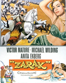 Poster & Victor Mature in Zarak Poster and Photo