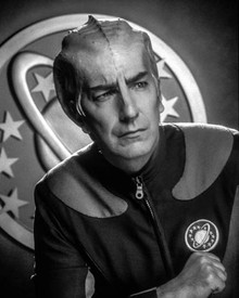 Alan Rickman in Galaxy Quest Poster and Photo