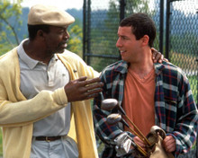 Adam Sandler & Carl Weathers in Happy Gilmore Poster and Photo