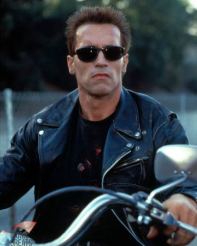 Arnold Schwarzenegger In Terminator 2 Judgment Day Poster And Photo