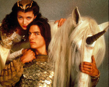 Tom Cruise & Mia Sara in Legend Poster and Photo