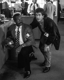Mel Gibson & Danny Glover in Lethal Weapon III Poster and Photo