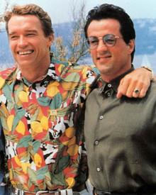 Arnold Schwarzenegger & Sylvester Stallone Poster and Photo