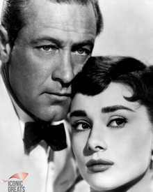 Audrey Hepburn & William Holden in Sabrina a.k.a. Sabrina Fair Poster and Photo