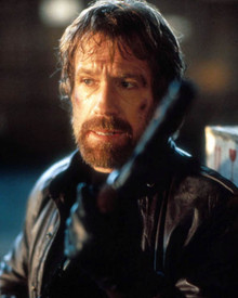 Chuck Norris in Code of Silence Poster and Photo