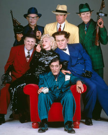 Cast in Dick Tracy Poster and Photo