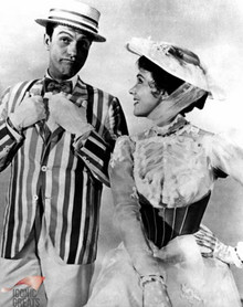 Dick Van Dyke & Julie Andrews in Mary Poppins Poster and Photo