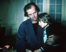 Jack Nicholson & Danny Lloyd in The Shining (1980) Poster and Photo