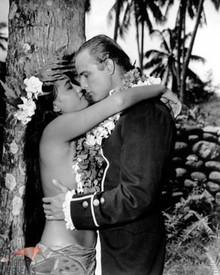 Marlon Brando & Tarita in Mutiny on the Bounty (1962) Poster and Photo