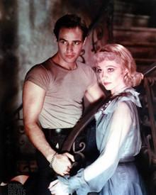 Marlon Brando & Vivien Leigh in A Streetcar Named Desire a.k.a. Un Tramway Nomme Desir Poster and Photo