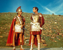 Kirk Douglas & Laurence Olivier in Spartacus Poster and Photo