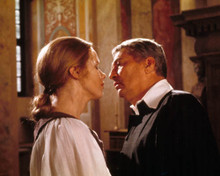 Liv Ullman & Peter Finch in The Abdication Poster and Photo