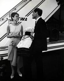 Audrey Hepburn & Mel Ferrer Poster and Photo