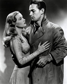 Alan Ladd & Veronica Lake in This Gun for Hire (1942) Poster and Photo