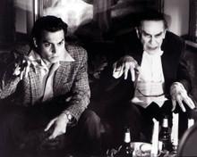 Johnny Depp & Martin Landau in Ed Wood Poster and Photo