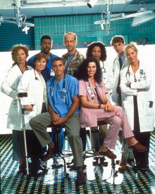 Cast in ER a.k.a. E.R. Poster and Photo