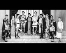Cast in Spartacus Poster and Photo
