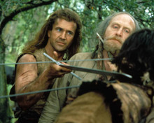 Mel Gibson & James Cosmo in Braveheart Poster and Photo