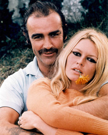 Sean Connery & Brigitte Bardot in Shalako Poster and Photo
