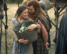 Mel Gibson & Catherine McCormack in Braveheart Poster and Photo
