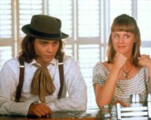Johnny Depp & Mary Stuart Masterson in Benny & Joon Poster and Photo