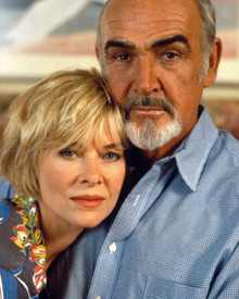 Sean Connery & Kate Capshaw in Just Cause Poster and Photo