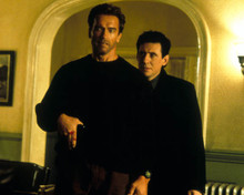 Arnold Schwarzenegger & Gabriel Byrne in End of Days Poster and Photo