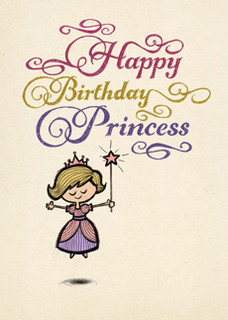 B-024  Happy Birthday, Princess.