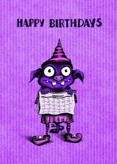 #110  Happy Birthdays - Birthdays in the plural.