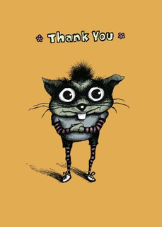 #101a-8  (Box of 8) Thank You/No Room to Write (Smaller Version)