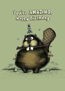 #079  You're Amazing, Happy Birthday.