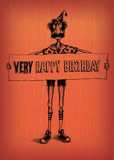 #058  Very Happy Birthday - I care more