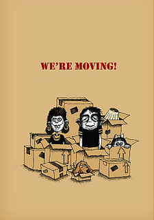 #033a - 8 (Box of 8) We're Moving! (Smaller Version)