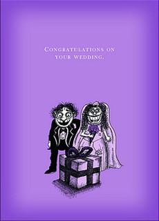 #027  Congratulations on your wedding - Registry
