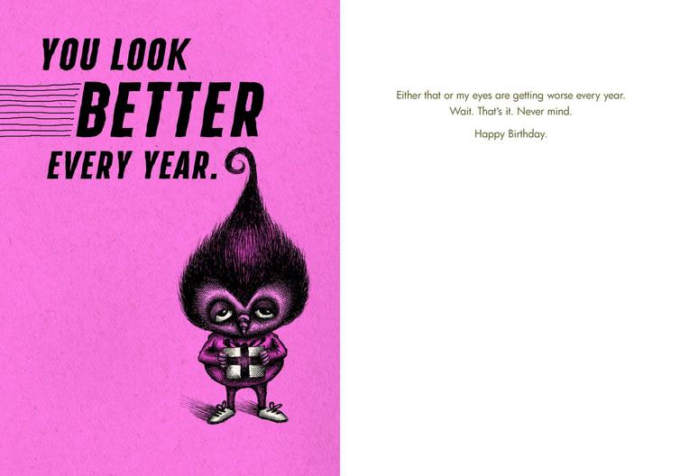 Best Sellers Birthdays Bald Guy Greetings