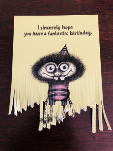#095  I sincerely hope you have a fantastic birthday. (shredded)