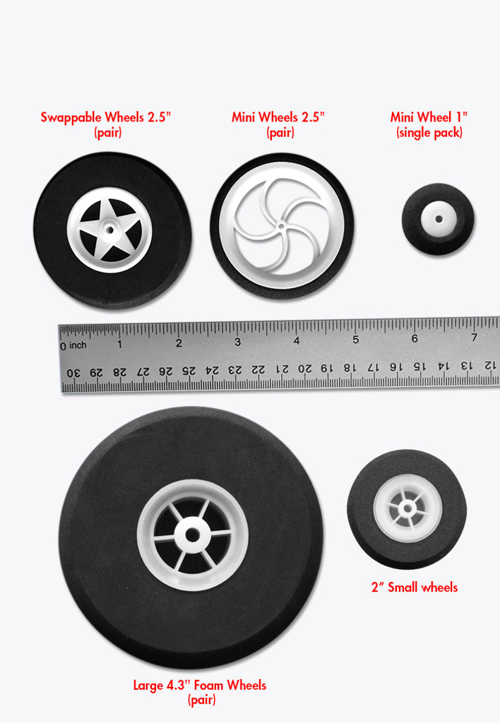 "2"" Small wheels"