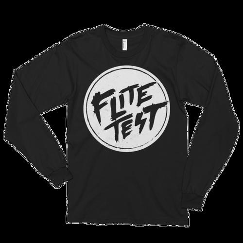 Flite Test Circle Logo Long sleeve T-Shirt