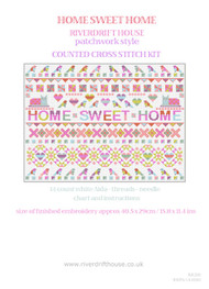 HOME SWEET HOME Patchwork Style