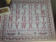 CHART PACK ANTIQUE FRENCH SAMPLER Abecedaire de Camille